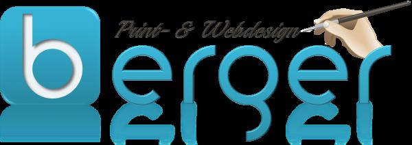 Berger Print- & Webdesign Logo